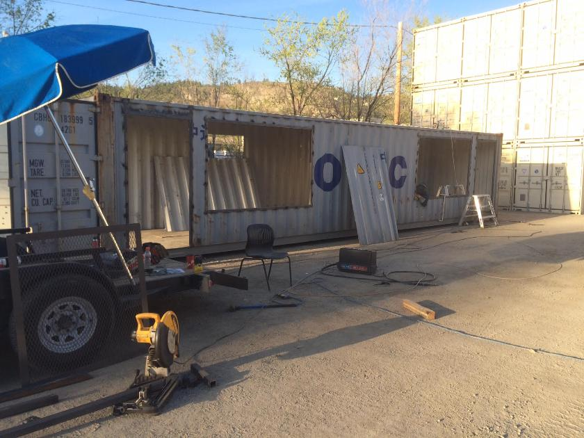 Tricor welding - Shipping container end welding ...